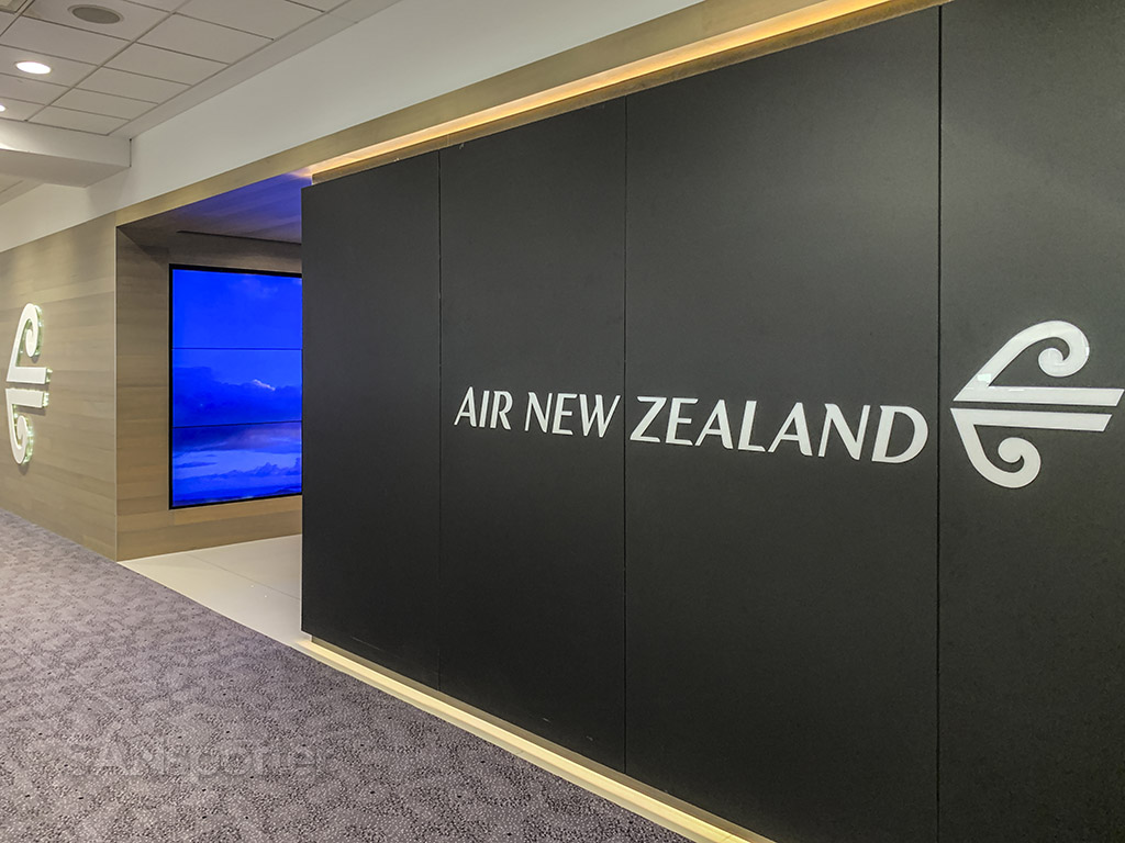Air New Zealand Lounge Sydney review