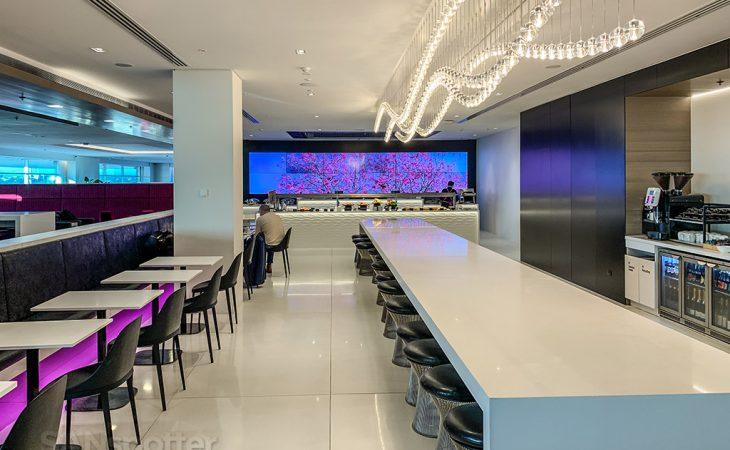 Air New Zealand Lounge design