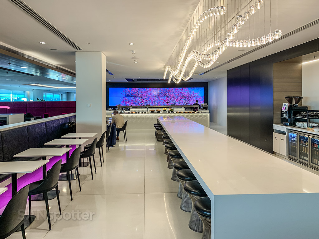 Air New Zealand Lounge design