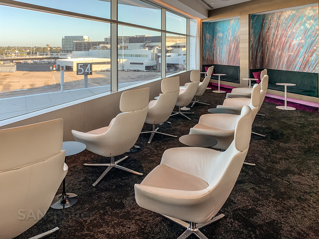 Air New Zealand Lounge seating