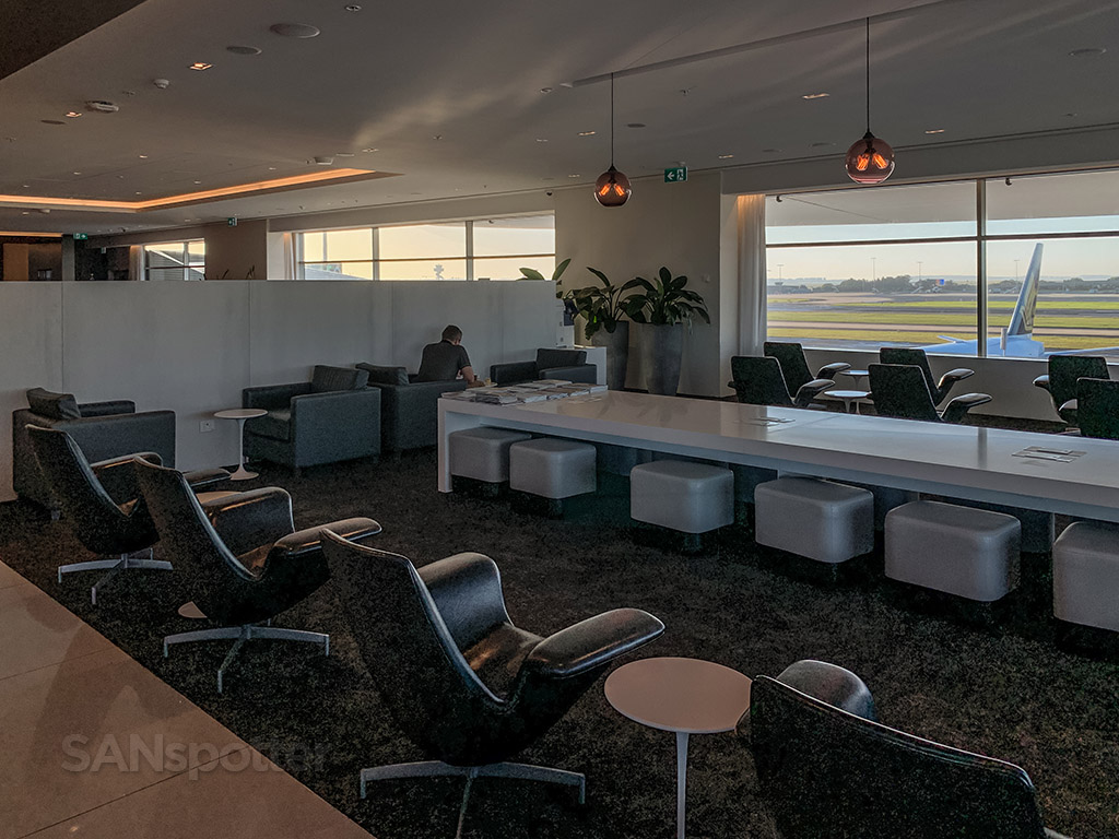 Air New Zealand Lounge full review