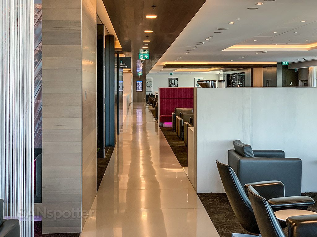 Air New Zealand Lounge interior Sydney