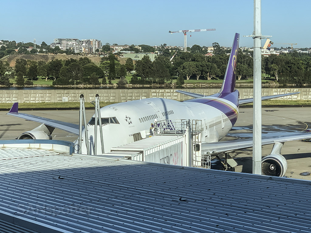 Thai Airways 747-400 Sydney Airport