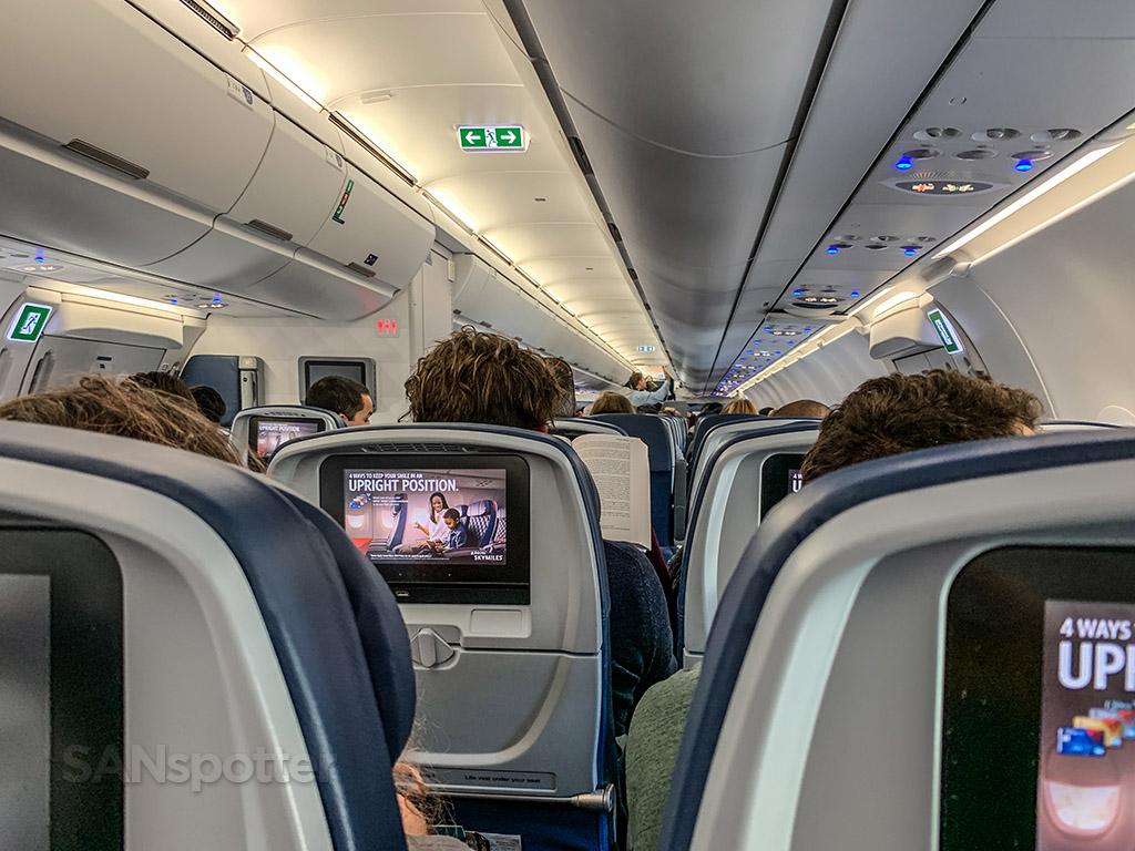 Delta a321 economy configuration