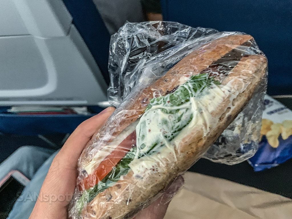 Delta food for purchase sandwich