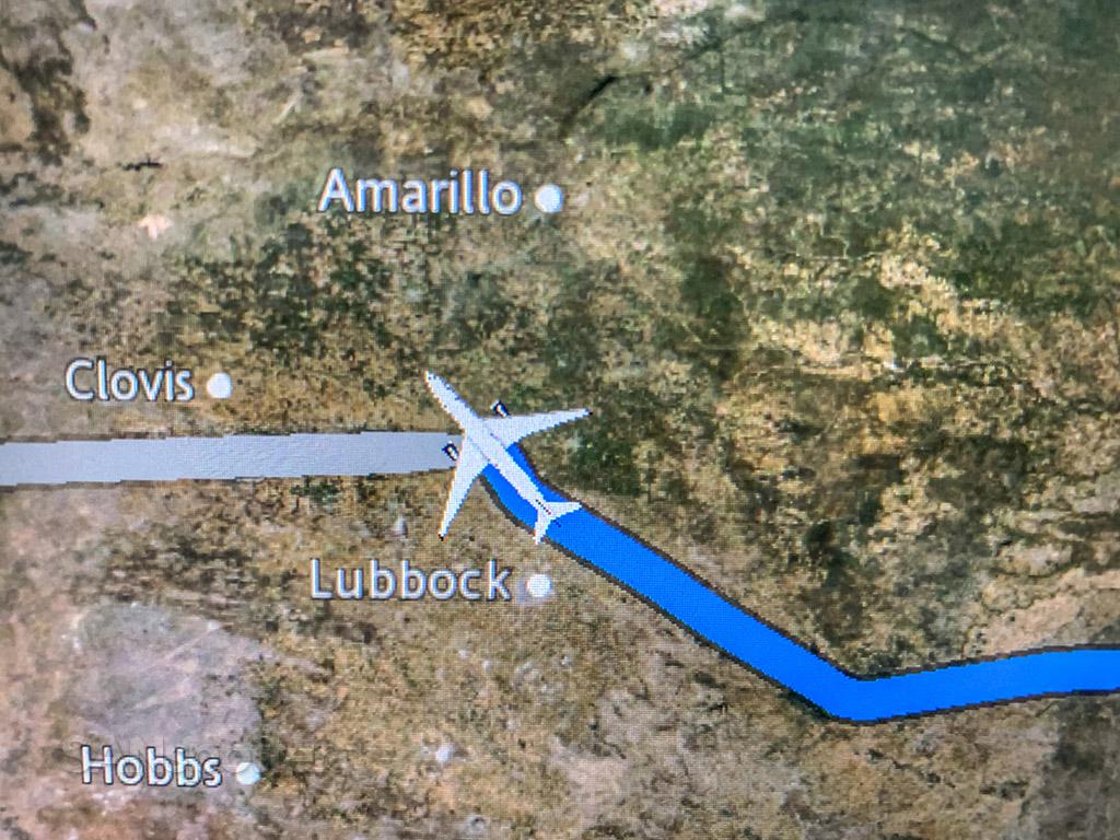 Flying over Clovis NM