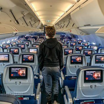 Delta a321 economy cabin