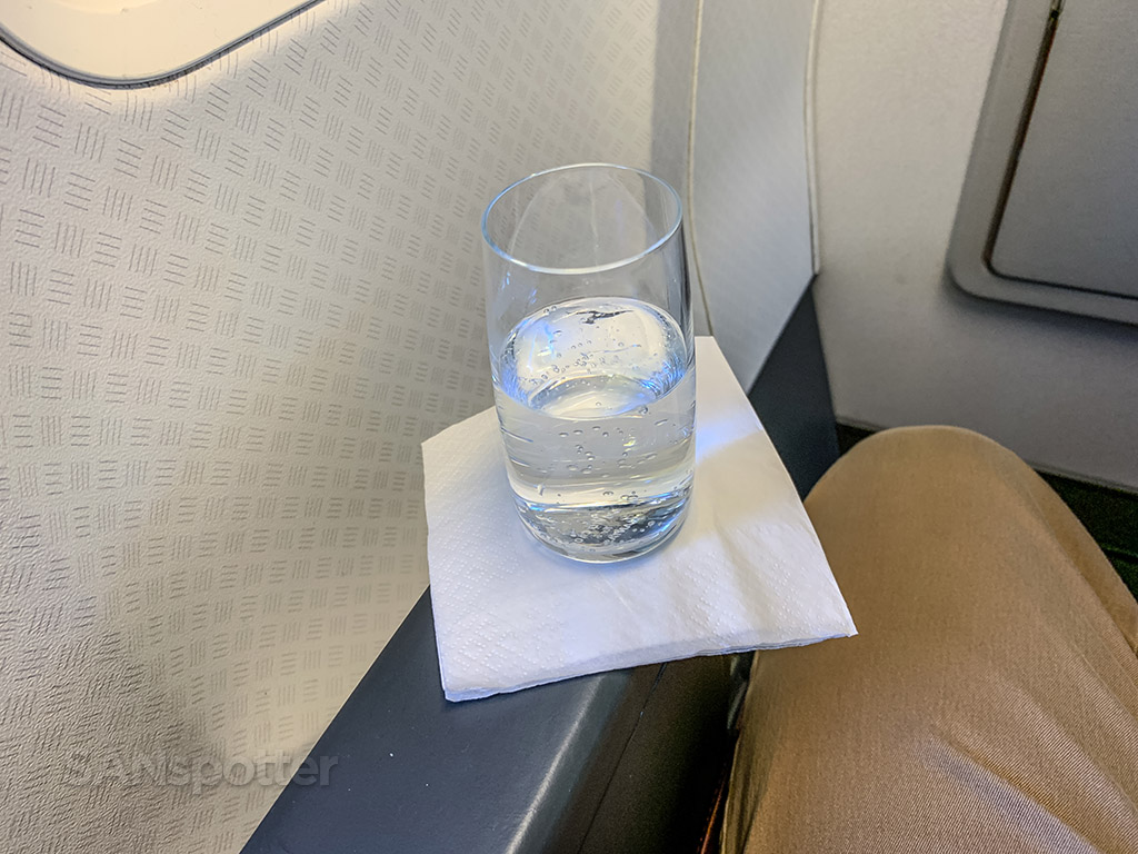 Qantas 737 first class review