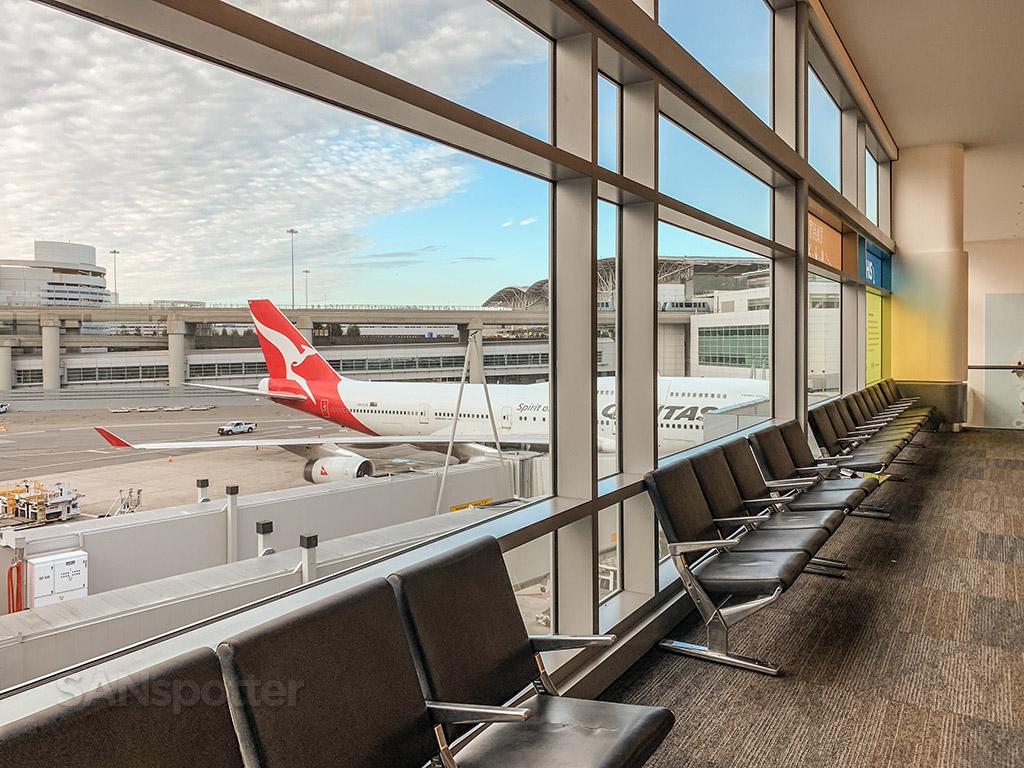 Qantas 747 SFO