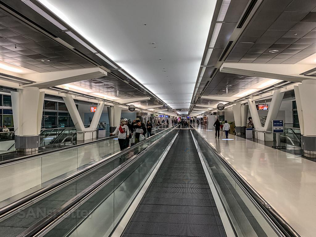 Terminal A interior SFO