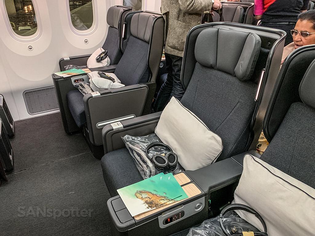 Qantas 787 premium economy seats