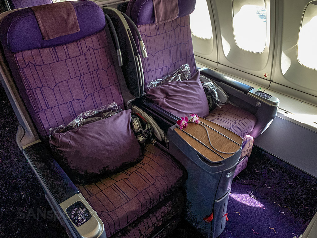 Thai Airways business class seats