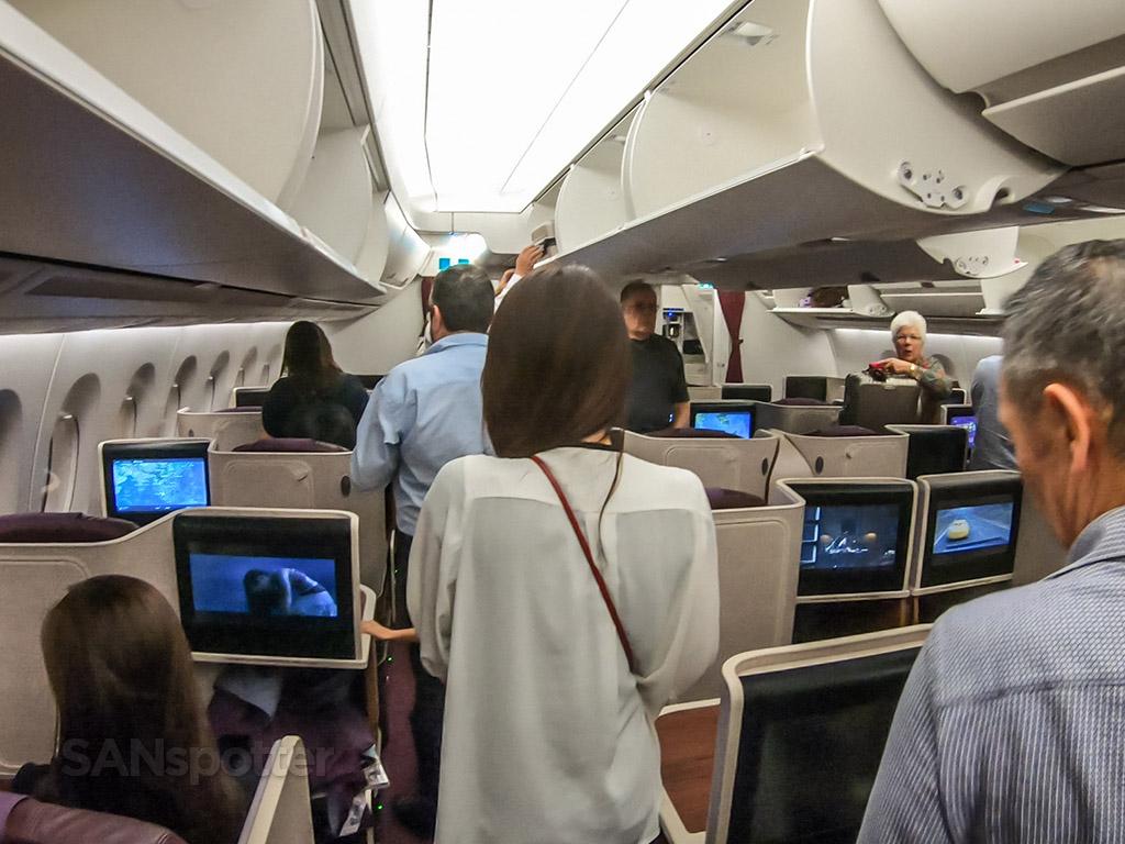 Thai Airways business class full review