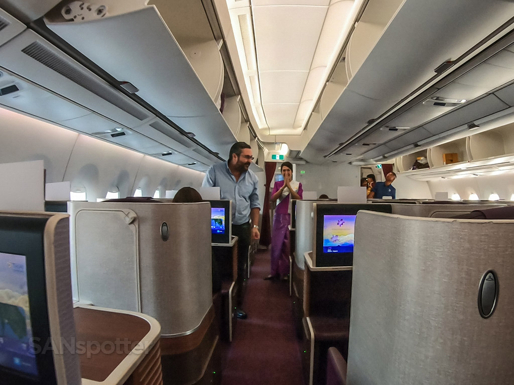 Thai Airways A350 business class