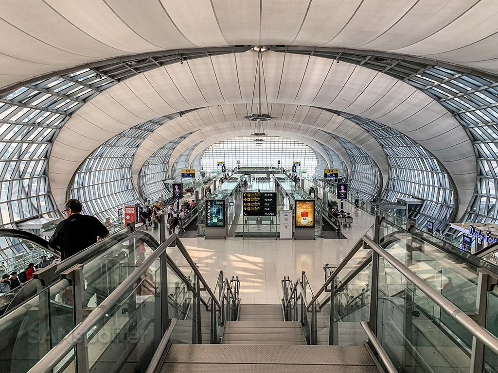 Bangkok Airport terminal design
