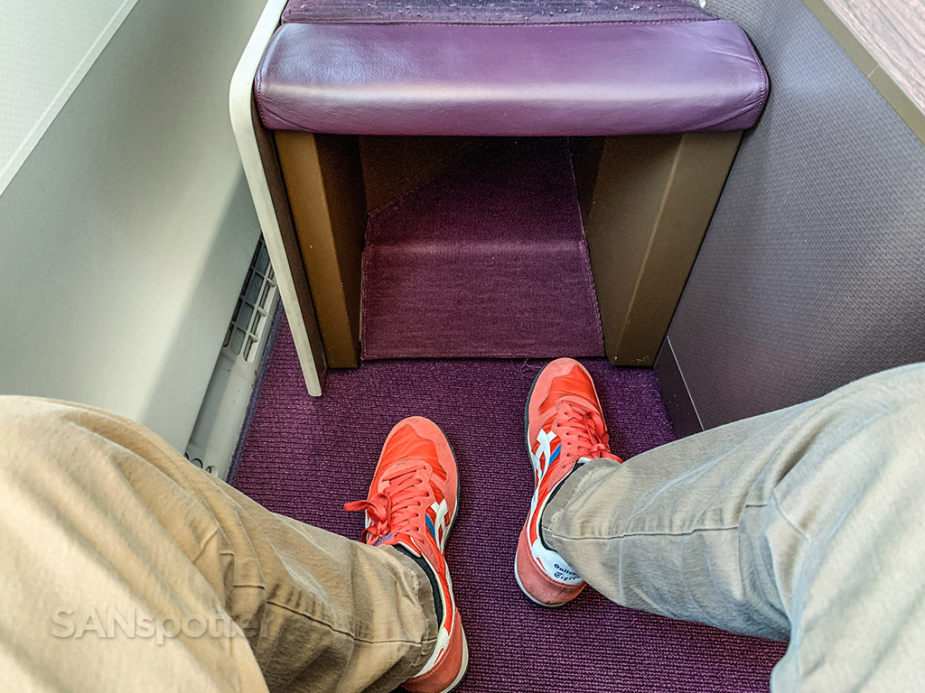 Thai Airways business class leg room