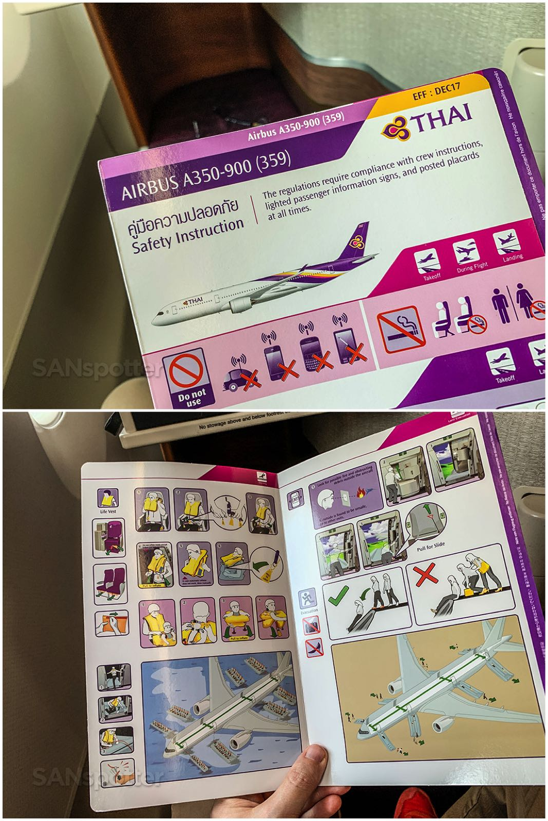 Thai airways safety