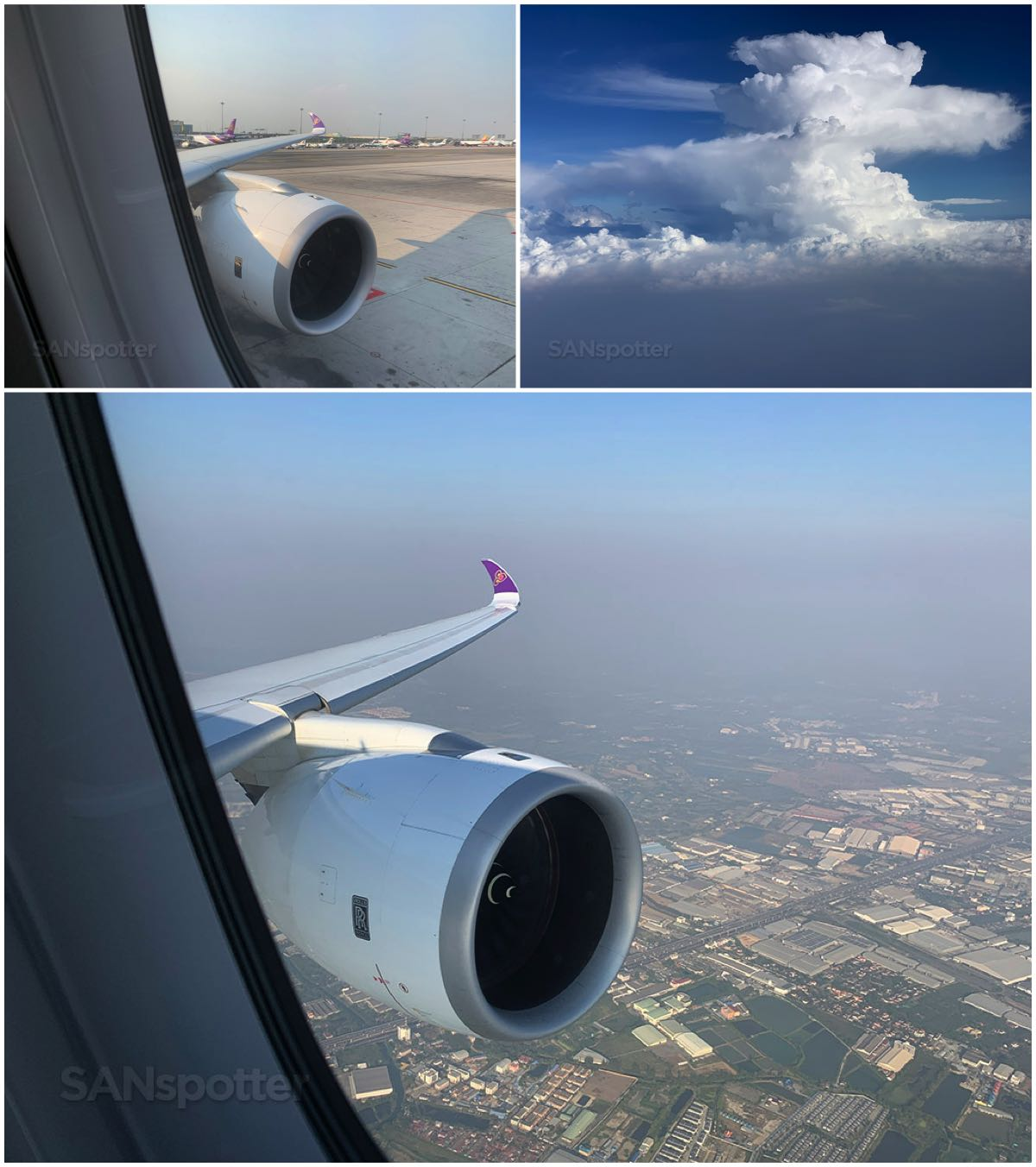 Thai airways departure BKK