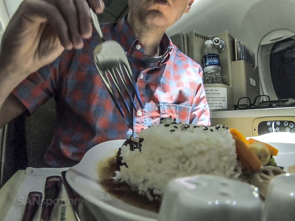 SANspotter selfie Vietnam Airlines