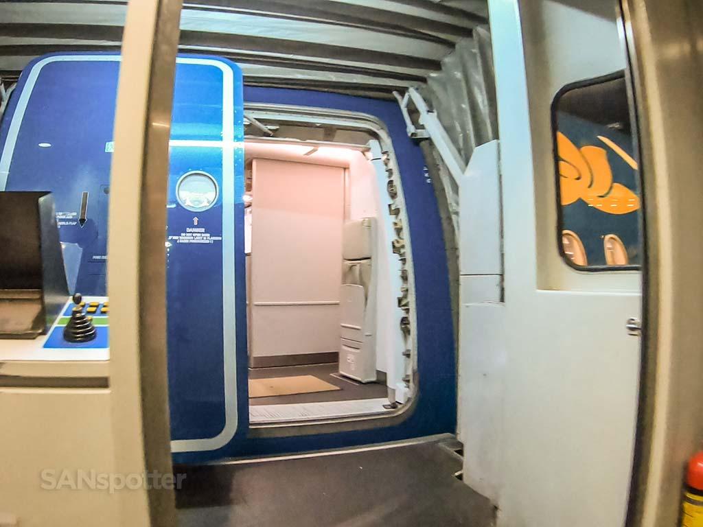 A350 boarding door