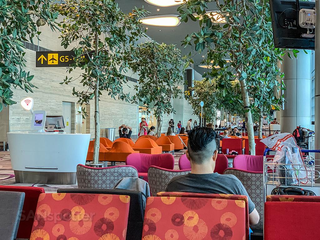 Singapore airport interior design