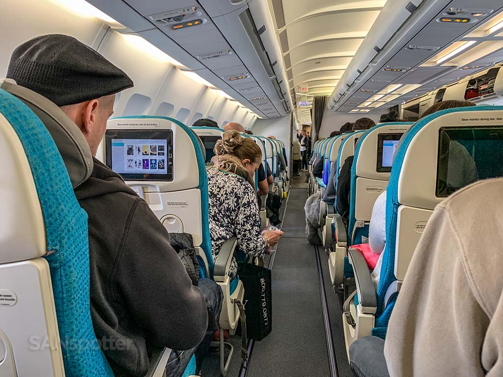 Air Tahiti Nui passengers