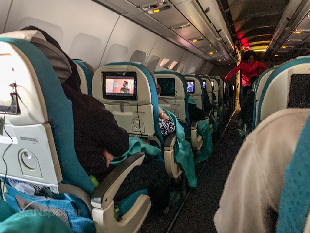 Air Tahiti Nui full review