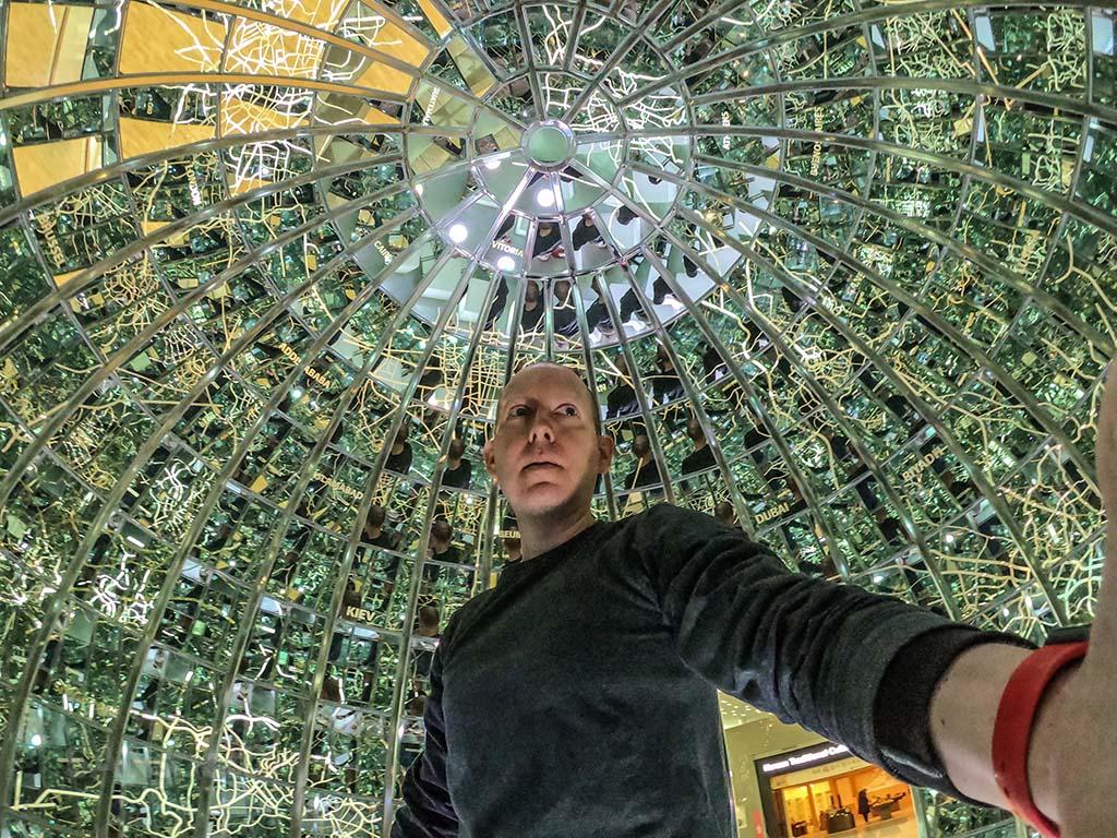 SANspotter selfie ICN airport