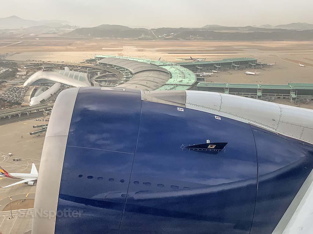 Delta A350 departure ICN