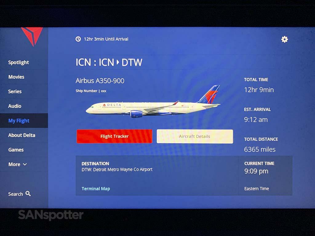 Delta studio A350 details