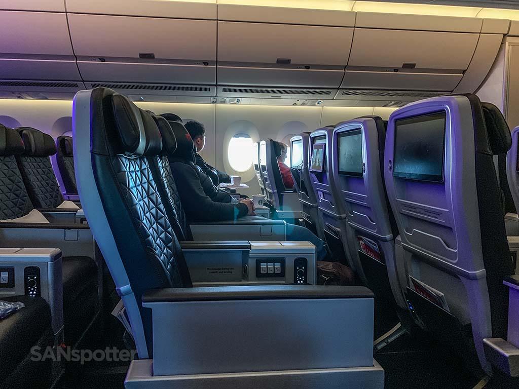 Delta premium select cabin pic A350