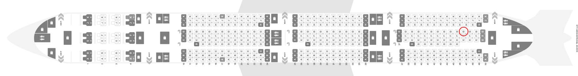 Qatar Airways 777-300er seat map