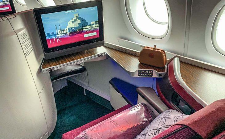 Qatar Airways Review business class