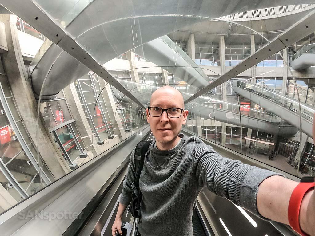 SANspotter selfie CDG