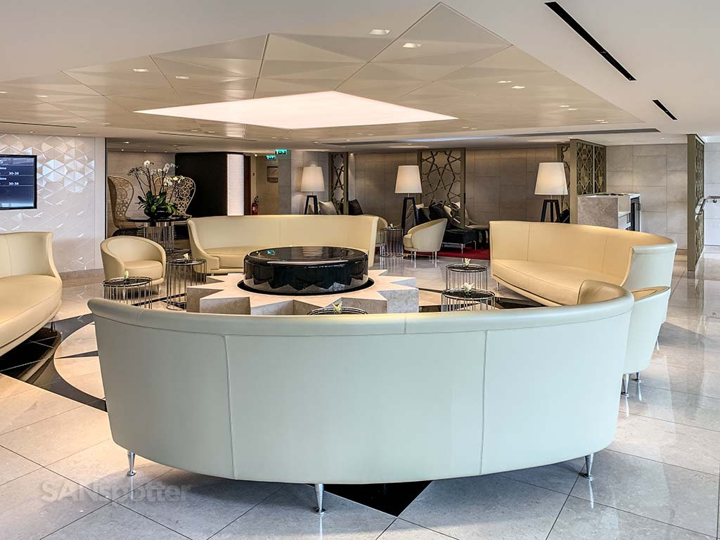 Qatar premium lounge CDG