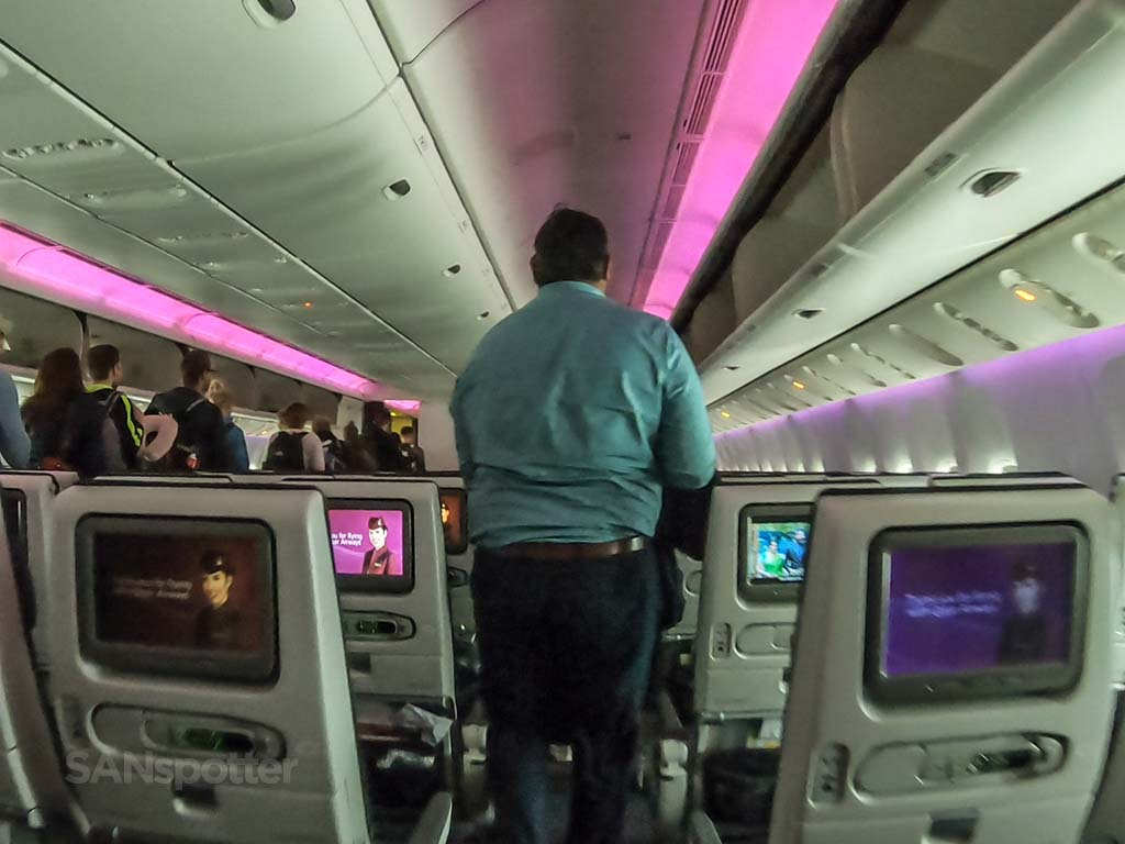 End of Qatar economy flight