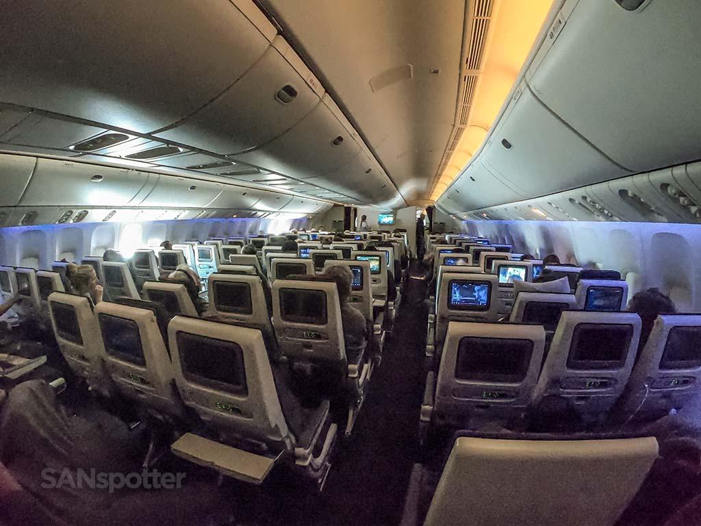 Qatar economy cabin 777