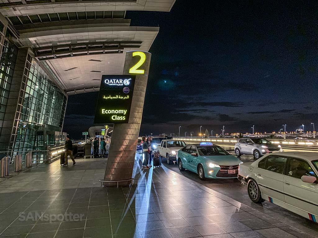 Doha airport departures