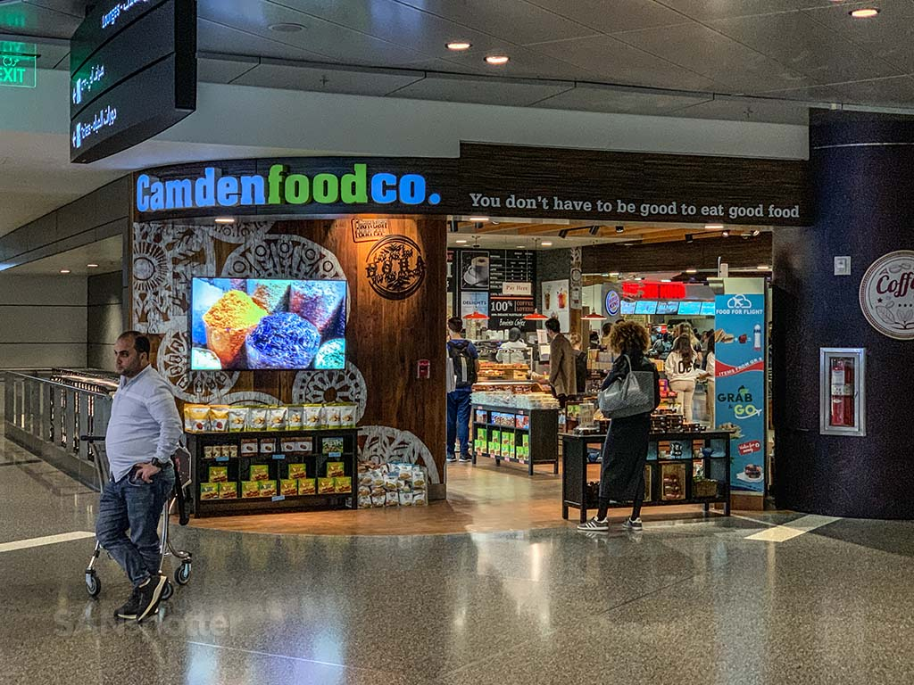 Camden food co Doha airport