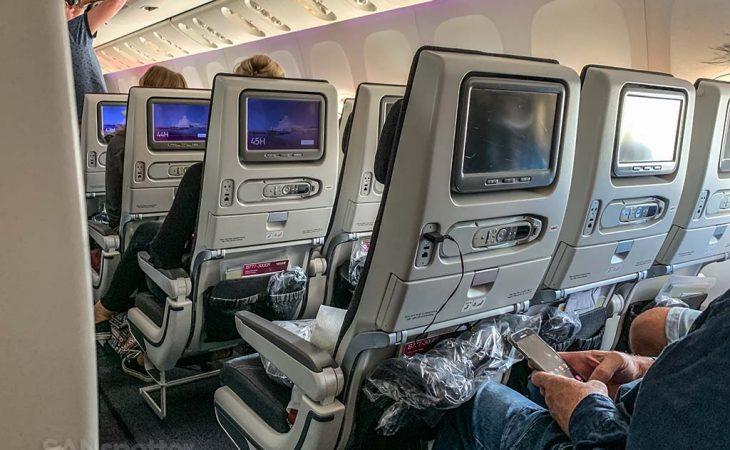 Qatar economy seats review