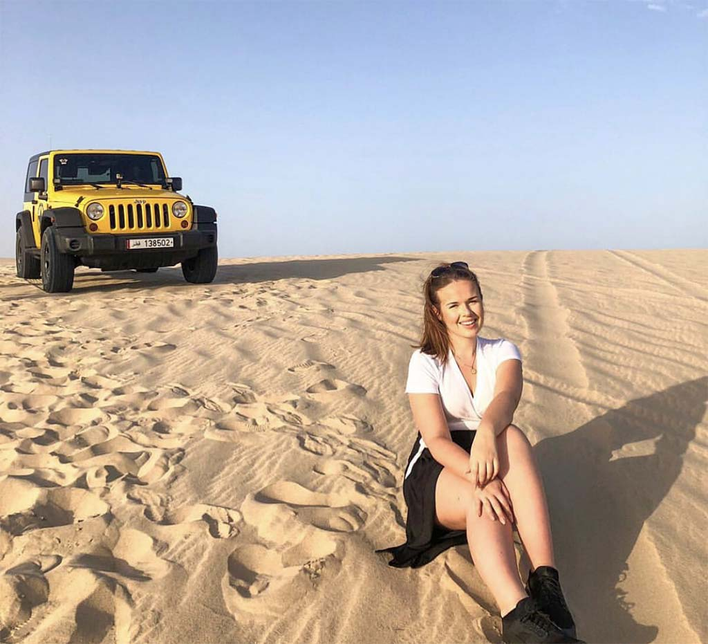 Things to do in Doha desert Jeep tour
