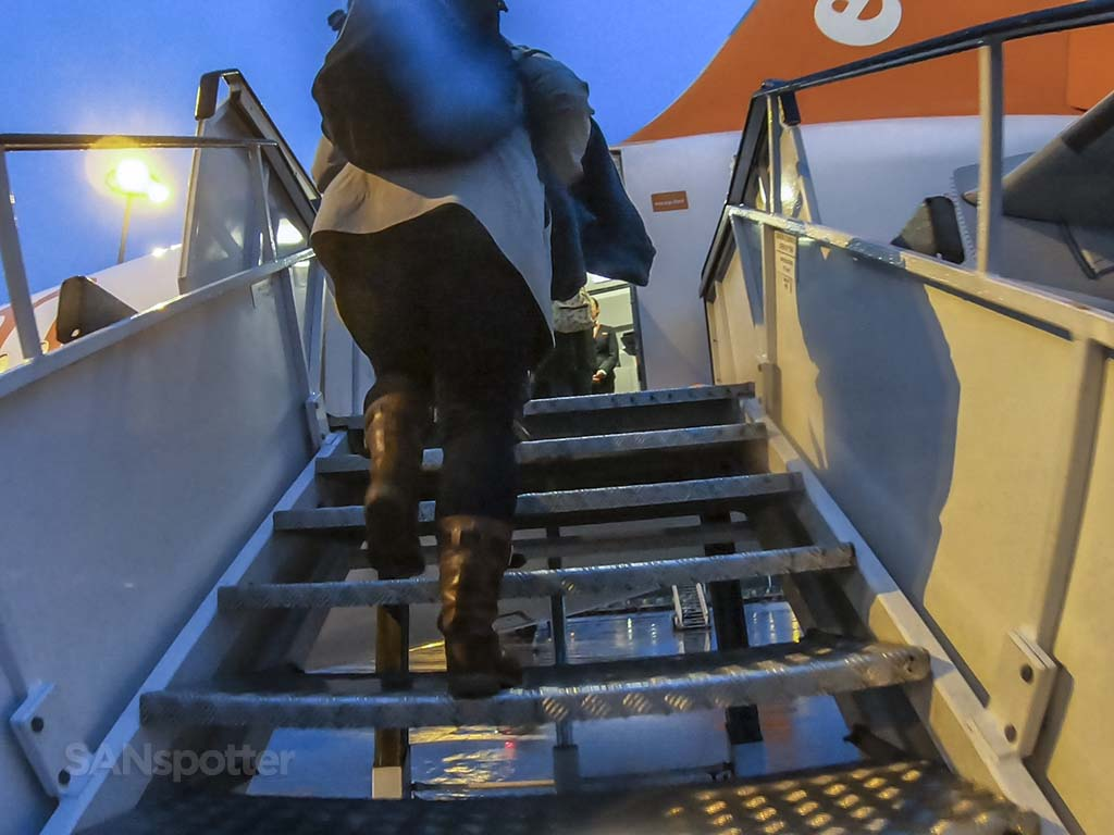 EasyJet air stairs