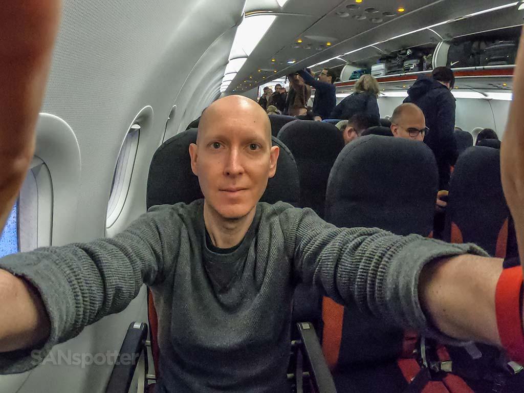SANspotter selfie a320