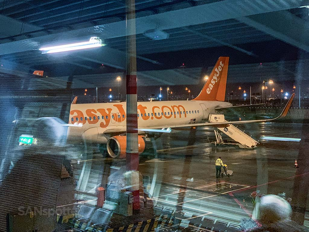 EasyJet a320 Amsterdam Airport