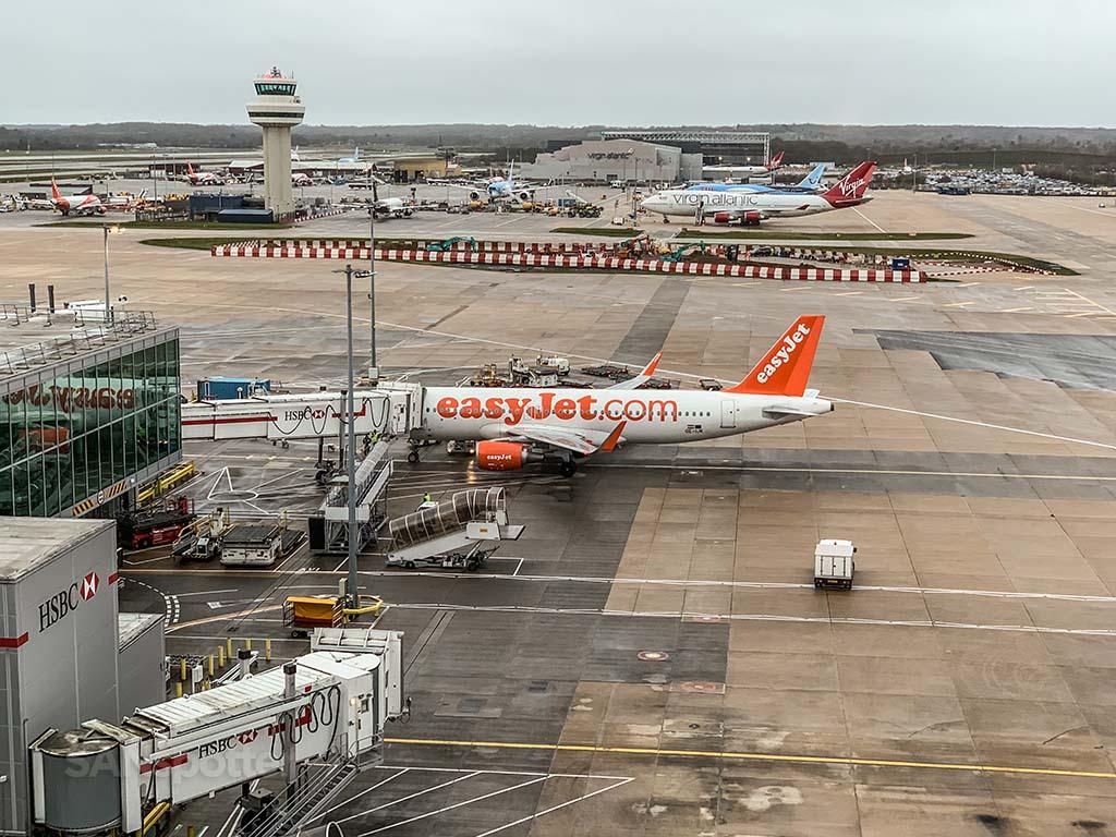 Gatwick Airport gate