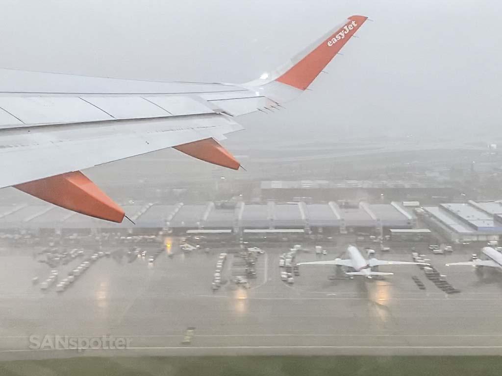 EasyJet takeoff Amsterdam