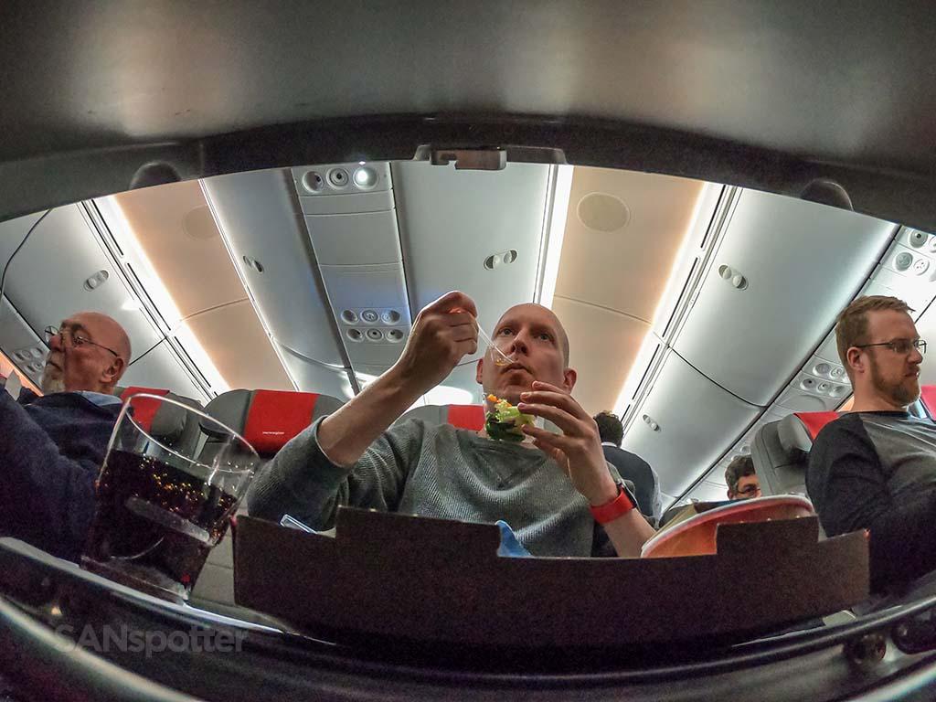 SANspotter selfie 787 interior