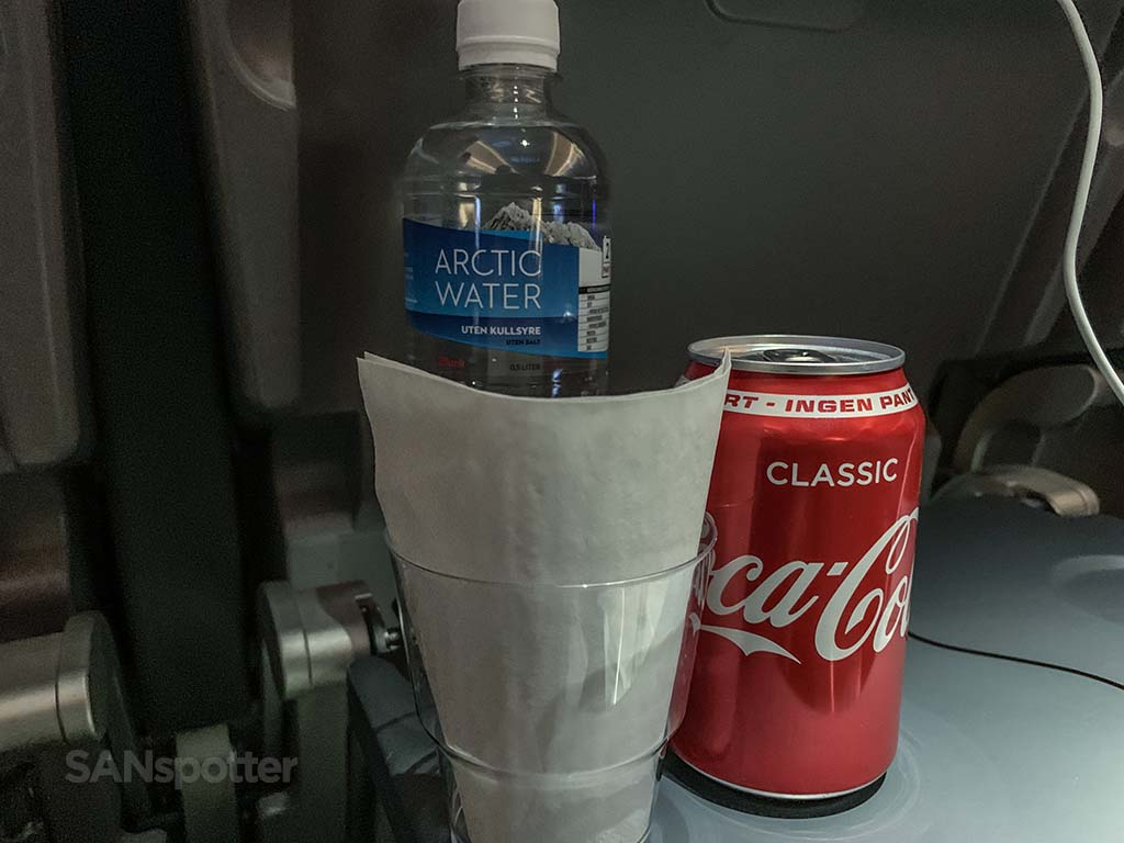 Norwegian Air drinks