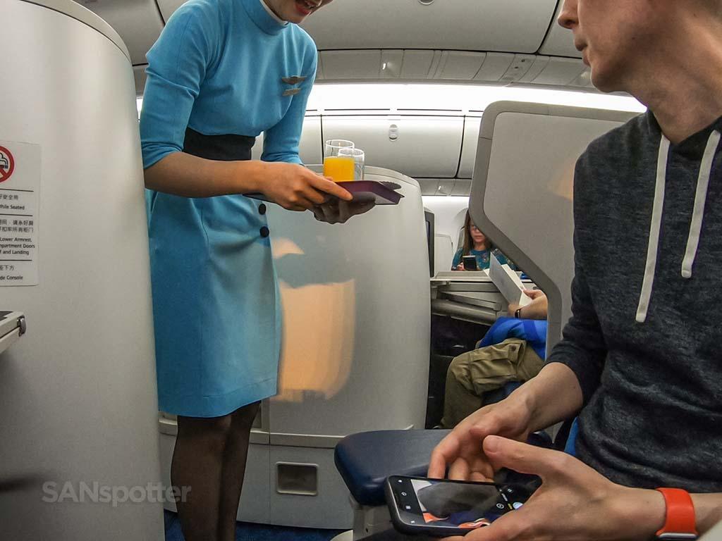 Xiamen Air service