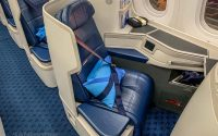 Xiamen Airlines business class seat